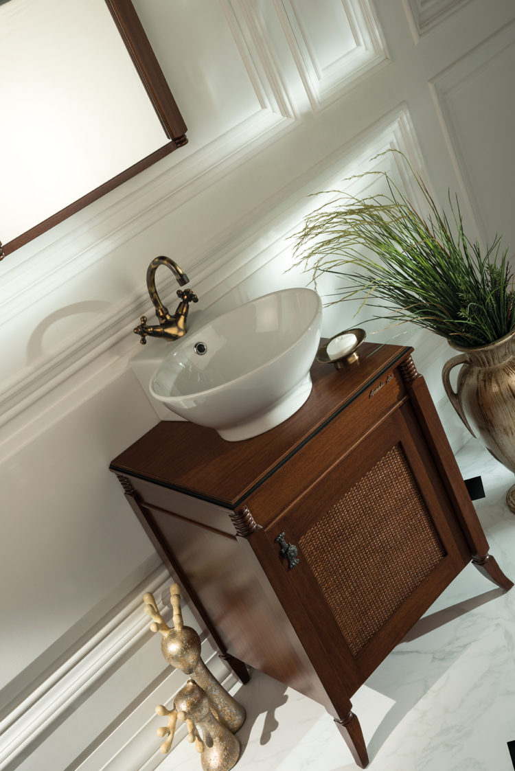vessel sink low profile