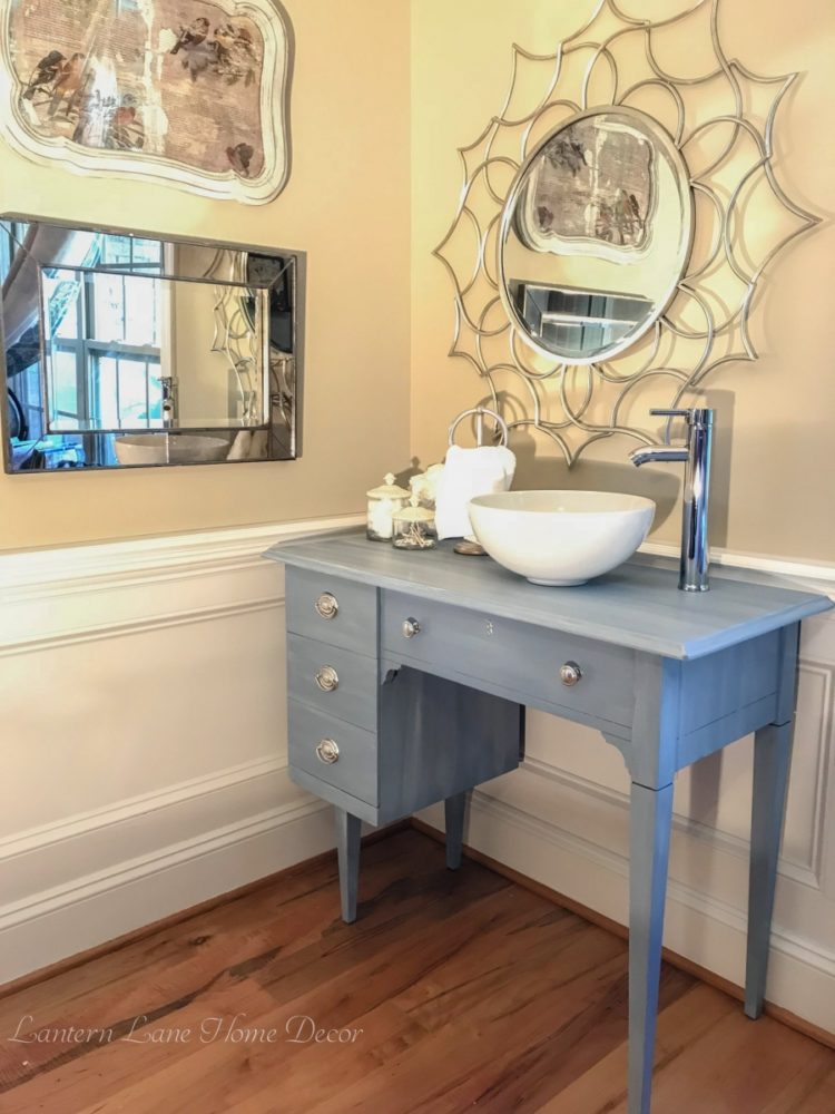 vessel sink on vanity