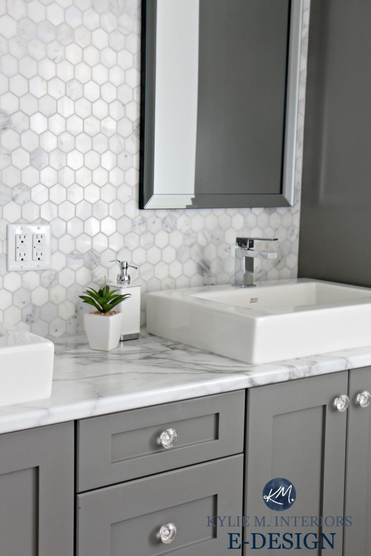 vessel sink floating vanity